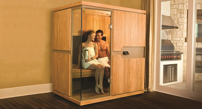 Home infrared saunas explained for Do it yourself outdoor sauna