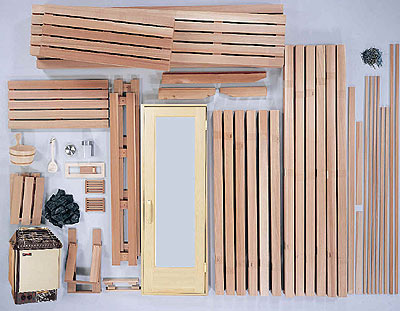 Different Types of Sauna Kits | Saunaville.com