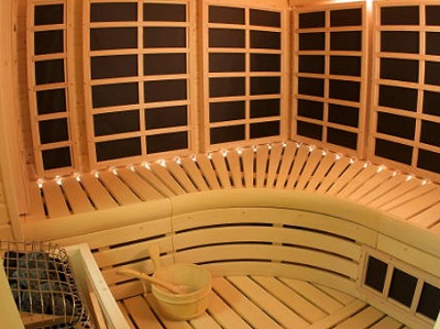 Infrared sauna heater