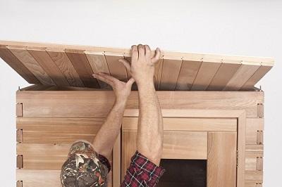 Emejing indoor sauna kits gallery decoration design for Do it yourself outdoor sauna