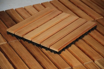 Best sauna flooring