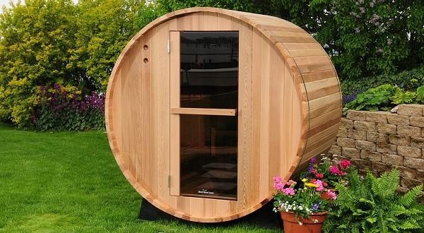 Almost heaven barrel sauna 6 39 review for Build your own barrel sauna