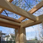 Sauna Walls and Roof Frame