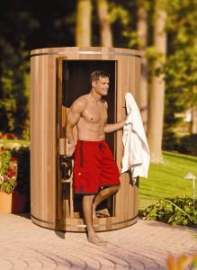 2 person indoor outdoor sauna